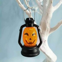 Pumpkin Hanging Lantern LED Light Halloween Halloween Orange Lights Hom... - $13.89