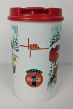 Vintage Hills Department Store Coca Cola Christmas Whirley Thermo Mug  - $29.70