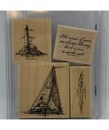 Stampin' Up! Winds of Grace Sailboat Sailing Stamp Set - $19.20
