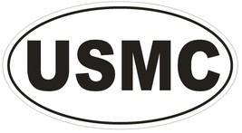 USMC Oval Bumper Sticker or Helmet Sticker D523 Laptop Cell Phone Marines Euro - $1.39+