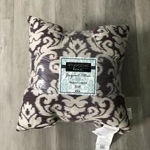 Studio Chic Home Decorative Jacquard Pillows 2-Pack, 20 in x 20 in Grape - $34.16