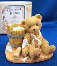 Cherished Teddies Joshua Love Repairs All by Enesco - $9.79