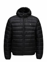 NWT Men's Polo Ralph Lauren Pony Hooded  Down Jacket Packable Hawthorne ... - $114.99