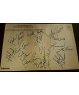 1976-77 TRAILBLAZERS TEAM SHEET SIGNED BY 12 LUCAS RAMSAY GILLIAM NBA CH... - $149.99