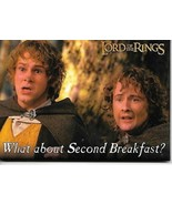 Lord of the Rings Merry & Pippin Second Breakfast  Photo Refrigerator Ma... - $4.99