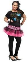 Fun World 80's Pop Party Neon Spitze Madonna Ball Plus Halloween Kostüm ... - $31.48
