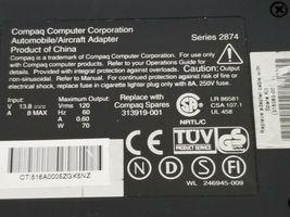 COMPAQ 315083-001 AUTOMOBILE / AIRCRAFT ADAPTER SER. 2874 246945-009 image 3