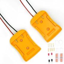 2-Packs Power Wheels Battery Adapter For Dewalt 18V 20V Battery Dw Diy - $43.99