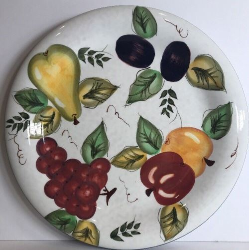 "Primary image for Oneida ""VINTAGE FRUIT"" Hand Painted Dinnerware Collection"