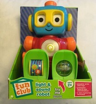 Fun Club, Light And Sound Posable Toy Robot - $13.98