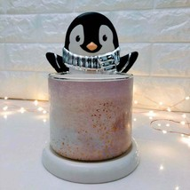 Holiday Penguin 3-Wick Candle Holder | Christmas Lights | Whimsical | Party | - $34.60