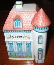 Saffron LENOX 1989 Spice Village House Fine Porcelain EUC - $19.78