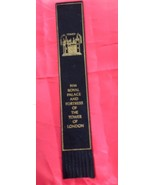 H.M. Royal Palace And Fortress.of The Tower Of London Bookmark 1960s - $9.90