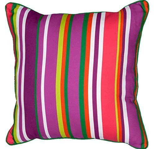 Stephanie Ferguson Collection Decorative Pillows, 100% Polyester, Indoor to Outd