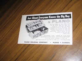 1960 Print Ad Plano #5802 Fishing Tackle Boxes Made in Palno,IL - $11.56
