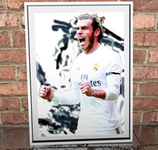 Gareth Bale Real Madrid Painting Poster Print -... - $11.99 - $49.99