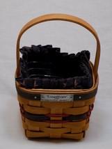 Longaberger 1993 Inaugural Basket Liner Apron Plastic Tray Signed EMM 19... - $24.99