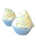 Blueberry Cupcake Soap-Bakery Soaps-Soaps for Teens and Kids - $8.25