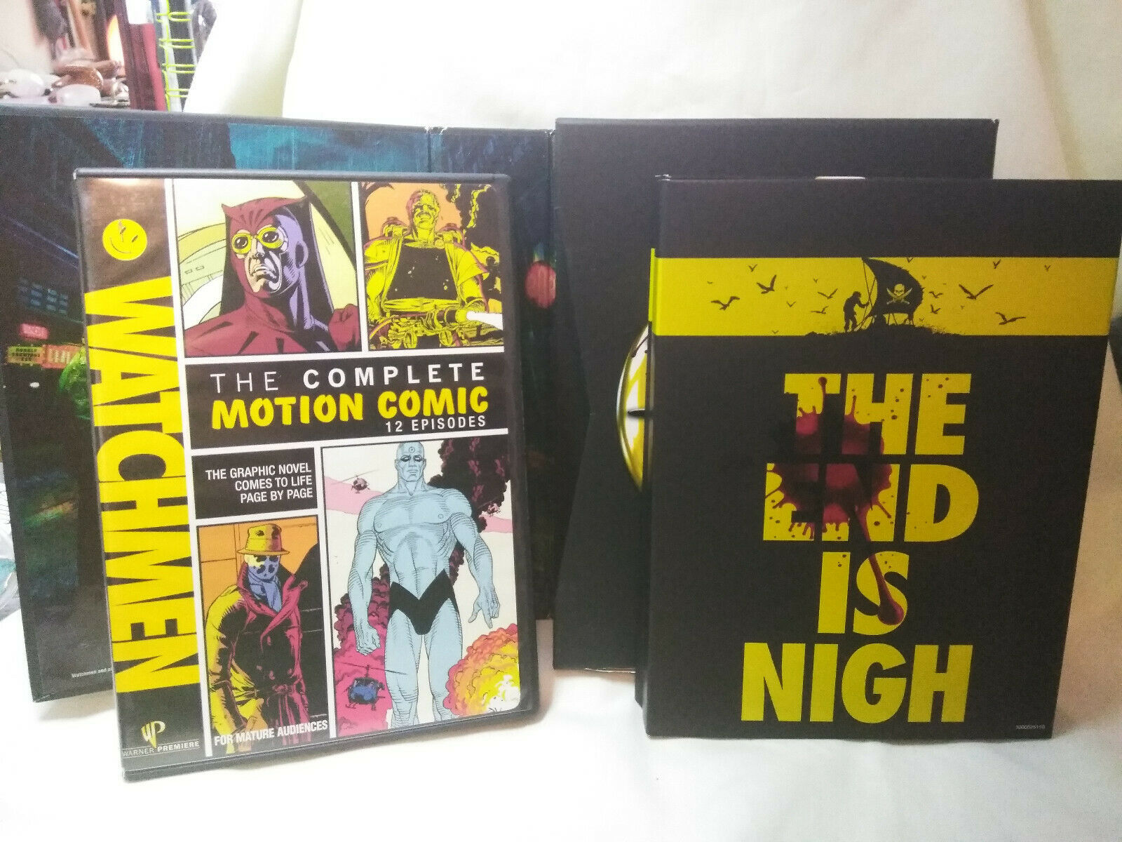 Watchmen--The ultimate cut The Complete Story 5 Discs image 4