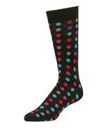Men's Dress Novelty Fashion Socks 1-3 Packs Polka Dots Funky Colors Size... - £6.45 GBP+