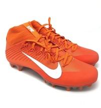 Nike Vapor Untouchable 2 Carbon Fiber Orange Football 924113-800 Men's 12 - $59.95