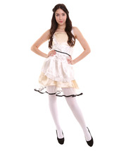 Adult Women's Sexy French Maid Uniform Costume   Copper Cosplay Costume - $37.85