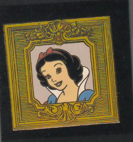 Snow White in Gilded Frame Disney Auctions (P.I.N.S.) le 500  pin no BACKER