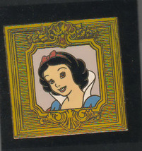 Snow White in Gilded Frame Disney Auctions (P.I.N.S.) le 500  pin no BACKER - $39.99