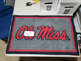 """Fanmats NCAA Ole Miss Rebels Starter Mat, Area Rug, 19""""x 30"""" 2-4 Day Delivery - $24.74"""