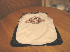 Baltimore Orioles large 14/16 youth jersey white MLB shirt tank sleeveless - $11.99