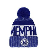 Memphis Men's Winter Knit Landmark Patch Pom Beanie (Royal/White) - $13.95