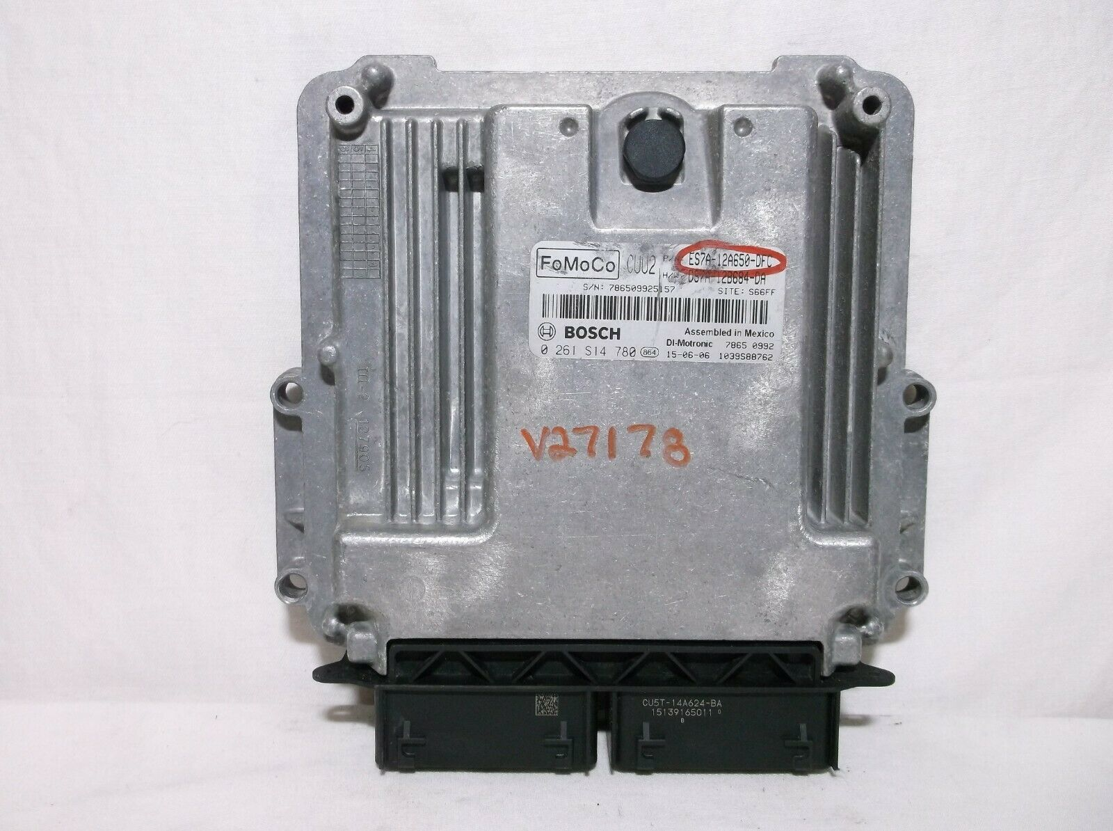 Primary image for 14-15-16  FORD FUSION/ 1.5L/ TURBO/ ENGINE CONTROL MODULE/ COMPUTER/ ECU.ECM.PCM
