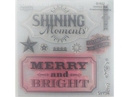Close to My Heart Sparkle and Shine Clear Stamp Set #D1577