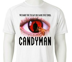 Candyman Dri Fit graphic Tshirt retro 80s horror movie SPF sun shirt active tee image 1