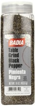 Badia Black Pepper Table Grind 16 Ounce - $11.64