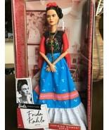 Frida Kahlo Barbie Doll Inspiring Women Series Mexican Frida Khalo - $77.21