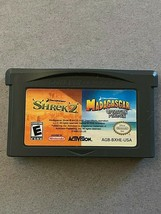 MADAGASCAR SHREK 2 GAMEBOY ADVANCE GAME GBA - $9.90