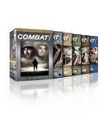 Combat! The Complete Series 1-5 Seasons 1 2 3 4 5 DVD 2013 Box set Brand... - $58.50