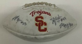USC TROJANS Signed  Autographed Football Ball Byers Thompson Schweiger - $138.60