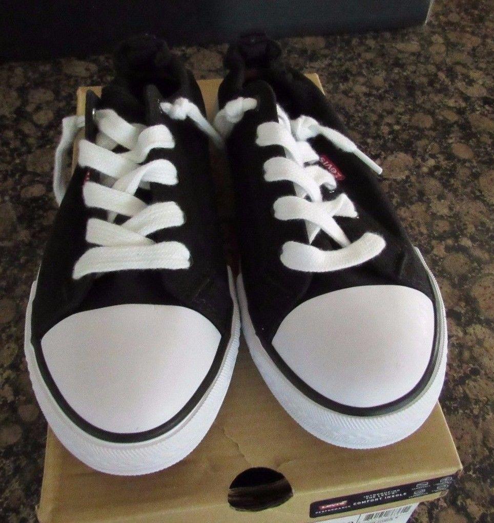 875409de Levi's Stan G Black Denim Sneakers Comfort and 50 similar items. S l1600