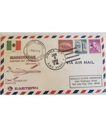 FDC Inauguration Eastern Jet Service Acapulco Mexico City New York - $4.95