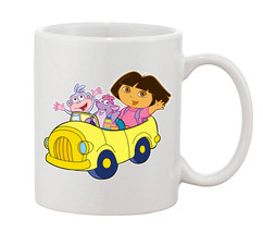 Dora The Explorer happy Mugs Cups Mugs & Funny Gift for Coffee Lovers Mug - $16.50