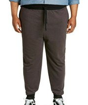 Mens Sweat Pants Jogger Sweatpants Contrast Waist Canyon Ridge Gray Big 1XL-4XL - $15.00