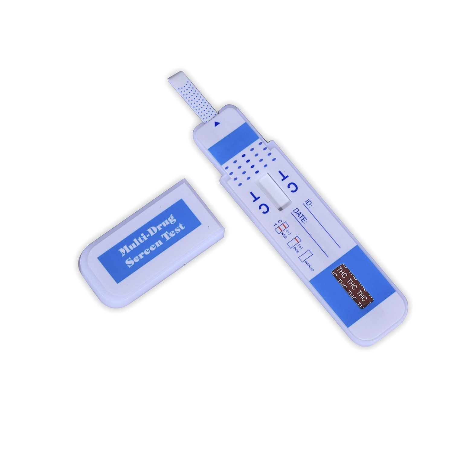 Primary image for Single Panel Instant THC Marijuana 20ng/mL Drug Testing Kit: MOST SENSITIVE TEST
