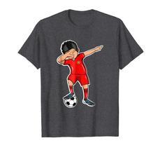 New Shirts - Dabbing Soccer Boy Portugal Jersey T Shirt Football Fan Men image 2