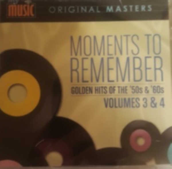 Moments To Remember vol 3 and 4  Cd