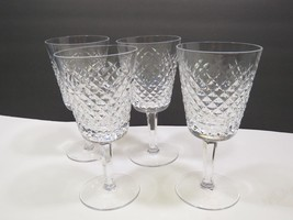 """Set of 4 Waterford Crystal Alana 7"""" Water Glasses - $148.50"""