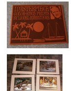 Masterpiece Color Etch Prints By Lionel Barrymore - $17.99