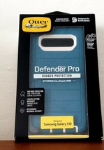 NEW OtterBox Defender Series Pro Phone Case for Samsung Galaxy S10 Blue NEW - $16.83