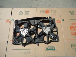 03-07 INFINITI G35 COUPE RADIATOR COOLING FANS ASSEMBLY OEM - $148.49
